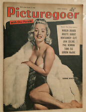 1958 PICTUREGOER FILM MAGAZINE: SHEREE WINTON - BRIGITTE BARDOT - MARLON BRANDO