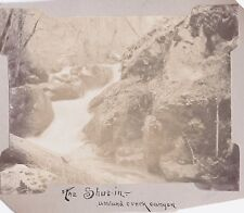 VINTAGE 1900 KLAMATH FALLS GRANTS PASS OREGON ASHLAND CREEK CANYON SHUT-IN PHOTO