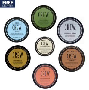American Crew Fiber, Forming Cream, Molding Clay, Grooming, Defining Paste 85g