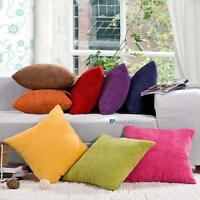 Color Corn kernels Corduroy Sofa Bed Decor Throw Pillow Case Cushion Cover  TF