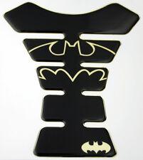 Batman Shadow Mirror Gold Effect 3D Gel Resin Domed Tank Pad K1 Shape