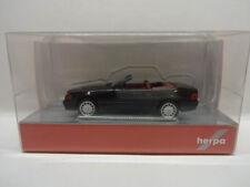Herpa 038850 MB Mercedes Benz 500 SL R129 schwarz metallic 1:87 Neu