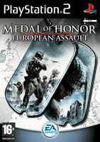 Medal of Honor: European Assault (PS2 Game) *VERY GOOD CONDITION*