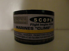 "MARINES ""CLIMB"" 35mm theater ad for show 30 second commercial SCOPE 4/2/04"