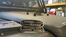 Badge for Land Rover Defender Heritage Station Wagon Solihull OEM 332670 306407
