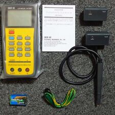 DER EE DE-5000 High Accuracy Handheld LCR Meter - w/ TL-21 TL-22 TL-23 New F/S