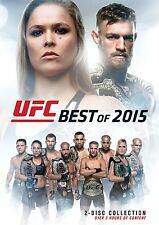 UFC : BEST OF 2015  - DVD - UK Compatible -sealed