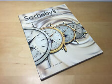 Magazine SOTHEBY'S Fine Watches, Clocks and Mechanical Music - London 5 JULY '01