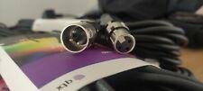 QTX 10m DMX Flexible Extension Cable Stage Lighting Theatre XLR 3 Pin