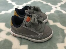 Toddlers Levi's Boys Kids Aart Top Denim Sneakers Casual Shoes Gray