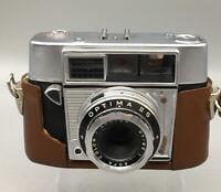 Vintage Agfa Optima II S Prontomator Rangefinder 35mm Film Camera Untested D20