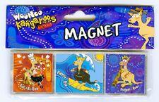 Woohoo Kangaroo , Fridge Magnet, Souvenir.