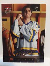 FLEER ULTRA #244 Jeff Hoggan Rookie RC Saint Louis Blues  NM-MT