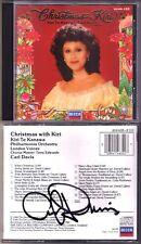 Kiri Te KANAWA CHRISTMAS WITH KIRI Winter Wunderland White CARL DAVIS Signed CD