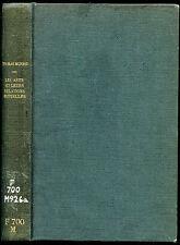 Thomas Munro : LES ARTS ET LEURS RELATIONS MUTUELLES. puf 1954