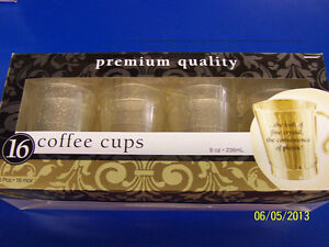 Gold Glitter Christmas Holiday Cocktail Solid Color Party Plastic Coffee Cups