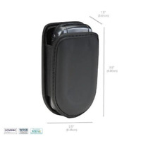 Universal Flip Phone Case Stylish universal flip phone pouch with Belt Clip New