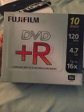 Blank Dvd-R 10 Disks 120 min 4.7 GB 1xto16x