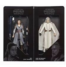 SDCC 2017 Hasbro Exclusive Star Wars: Black Series Jedi Master Rey And Luke