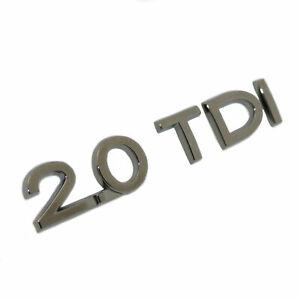 original Schriftzug 2,0 TDI Logo Emblem VW Audi Seat Skoda selbstklebend