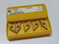6 new KENNAMETAL VNMG 332 MP KC9215 Carbide Inserts