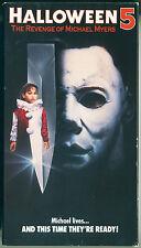 HALLOWEEN 5: REVENGE OF MICHAEL MYERS (1989) - Original 1990 CBS / Fox VHS