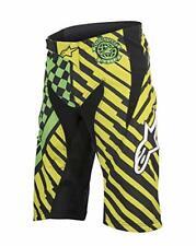Alpinestars Mens Sight Speedster Cycling Shorts Bright Green Acid Yellow Size-32