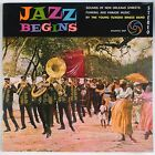 JAZZ BEGINS: Young Tuxedo Brass Band NEW ORLEANS Atlantic 50s GF DG Stereo LP