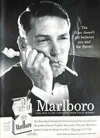 1955 Marlboro Cigarettes Vintage Print Ad Philip Morris Filter