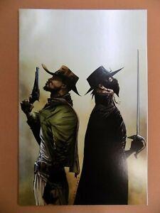 Django/Zorro #1 Virgin Variant Dynamite Comic 2014