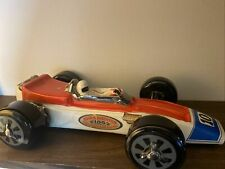 Vintage 1970 Indy Race Car Indianapolis Jim Beam Whiskey Decanter Ezra Brooks 10