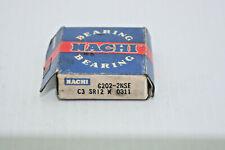 Nachi Bearing 6202-2NSE 15x35x11mm Single Row Ball Bearing New