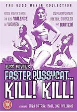 Faster Pussycat Kill Kill DVD Movie Russ Meyer Original UK Release New Sealed R2
