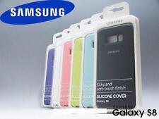 205354 Samsung Galaxy S8 Cover in Silicone Silver/gray