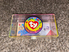 Beanie Babies Ty 1999 Official Club Collector's Card Storage Box - New/Sealed