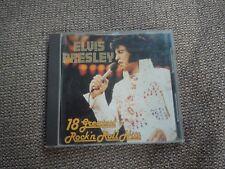 Elvis Presley 18 Greatest Rock N Roll Hits RARE French CD Album