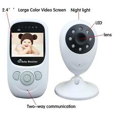 2.4GHz Wireless TFT LCD Video Baby Monitor with Night vision Remote Camera EU LN