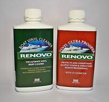 Renovo Barco / MARINO vinilo limpiador y VINILO Ultra para Kit. 2x 500 ml