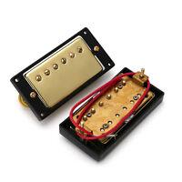 1 Set Gold Humbucker Double Coil Neck Bridge Pickups For Gibson Les Paul Guitar
