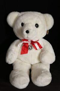 "Dakin 25"" Jingle Bell Cuddles Bear (Large) Vintage 1979 NWT"