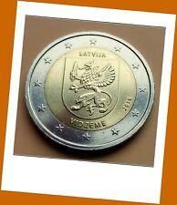 2 Euro Gedenkmünze Lettland  2016 - Regionen Serie Vidzeme - Neu