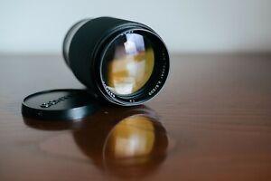 Contax Carl Zeiss Tele-Tessar T* 200mm f/3.5 - Leitax Canon EF