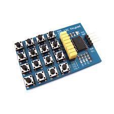 I2C Keypad Module 16 Key 4 x 4 Membrane Switch Keypad Matrix keyboard