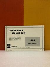 Tektronix 070 1194 00 485 Oscilloscope Operators Handbook
