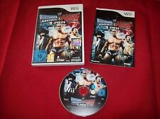 WWE SmackDown vs. Raw 2011 (Nintendo Wii, 2011, DVD-Box)    Komplett