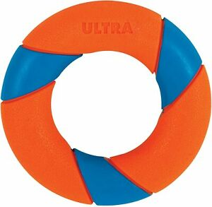 Chuckit! ULTRA RING FETCH Rubber Erratic Dog Toy RingChaser Launcher Compatible