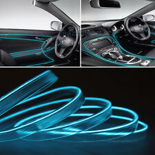 2M 12V EL Wire Ice Blue Cold light Neon Atmosphere Unique Decor For Ford F-150