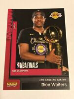 2019-20 Panini Instant Basketball Los Angeles Lakers Set #19 - Dion Waiters