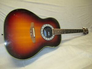 80's OVATION ELECTRO ACOUSTIC STEEL STRING - made in USA