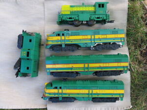 Marx Western Pacific Diesel Set Collection - 1956 - Excellent